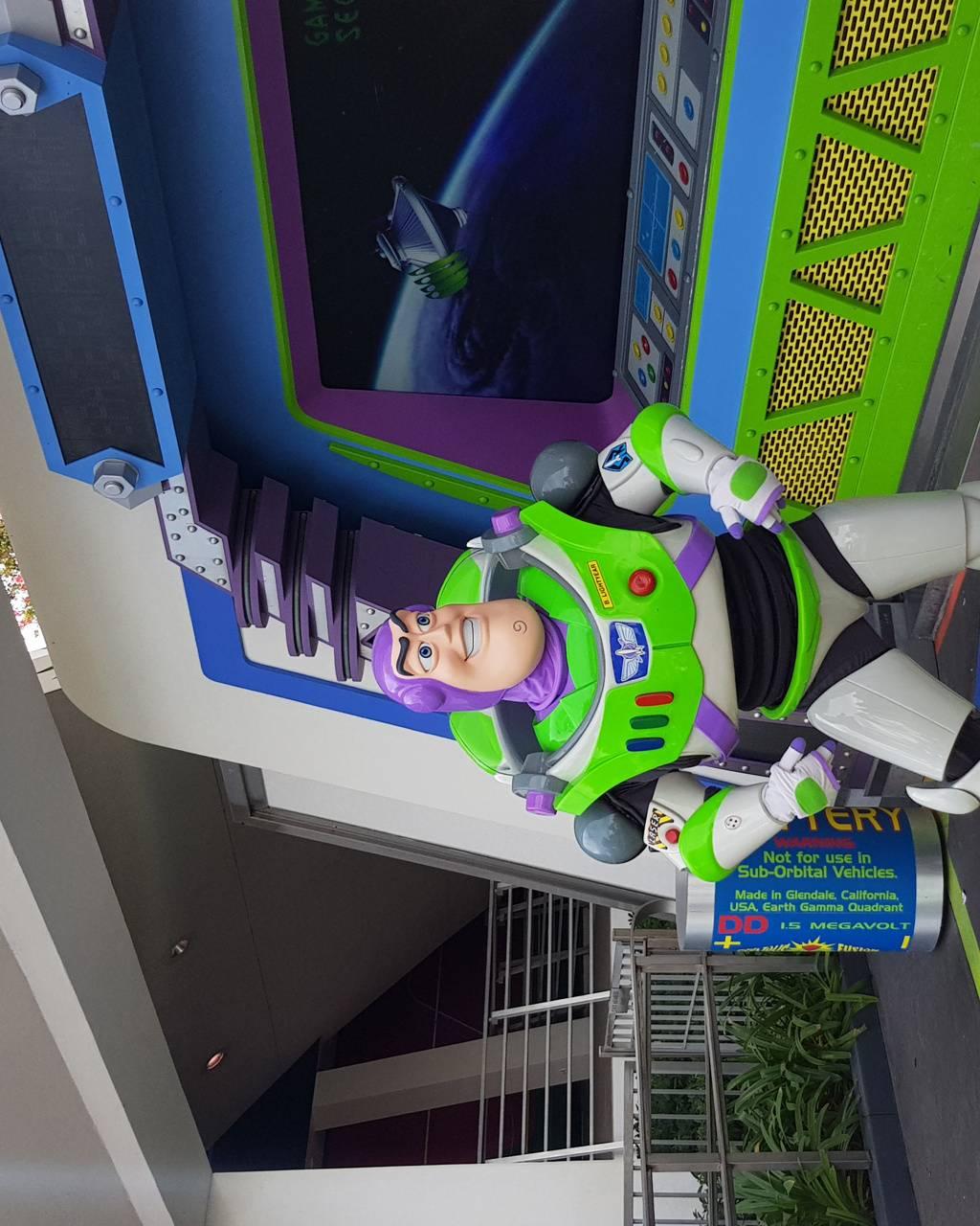 Buzz at disney