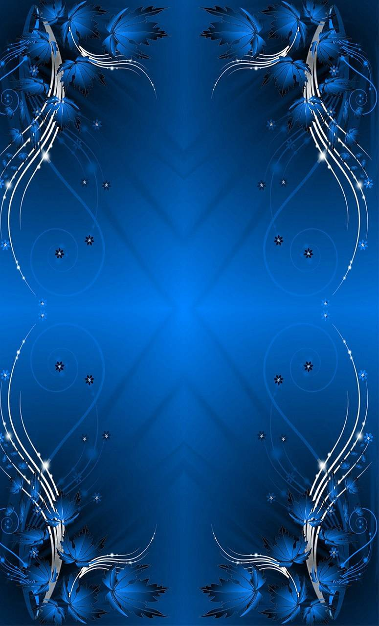 blue abstract thing