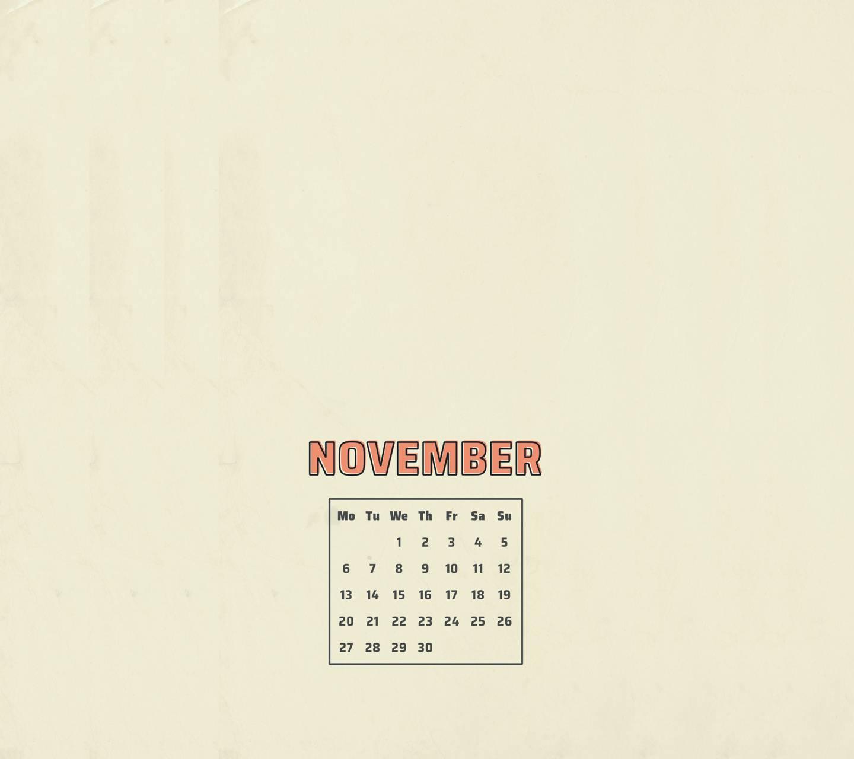 November Peach