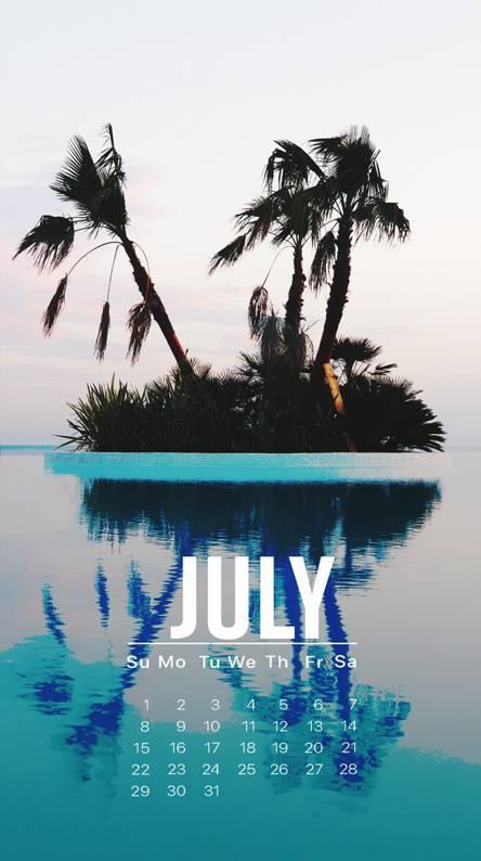 July Palm Island