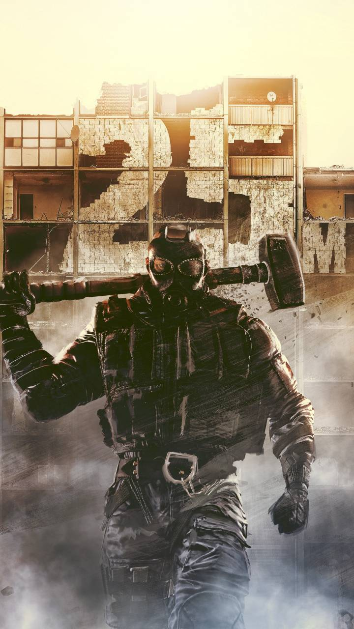 Sledge R6 Wallpaper By Cloudylologu F4 Free On Zedge