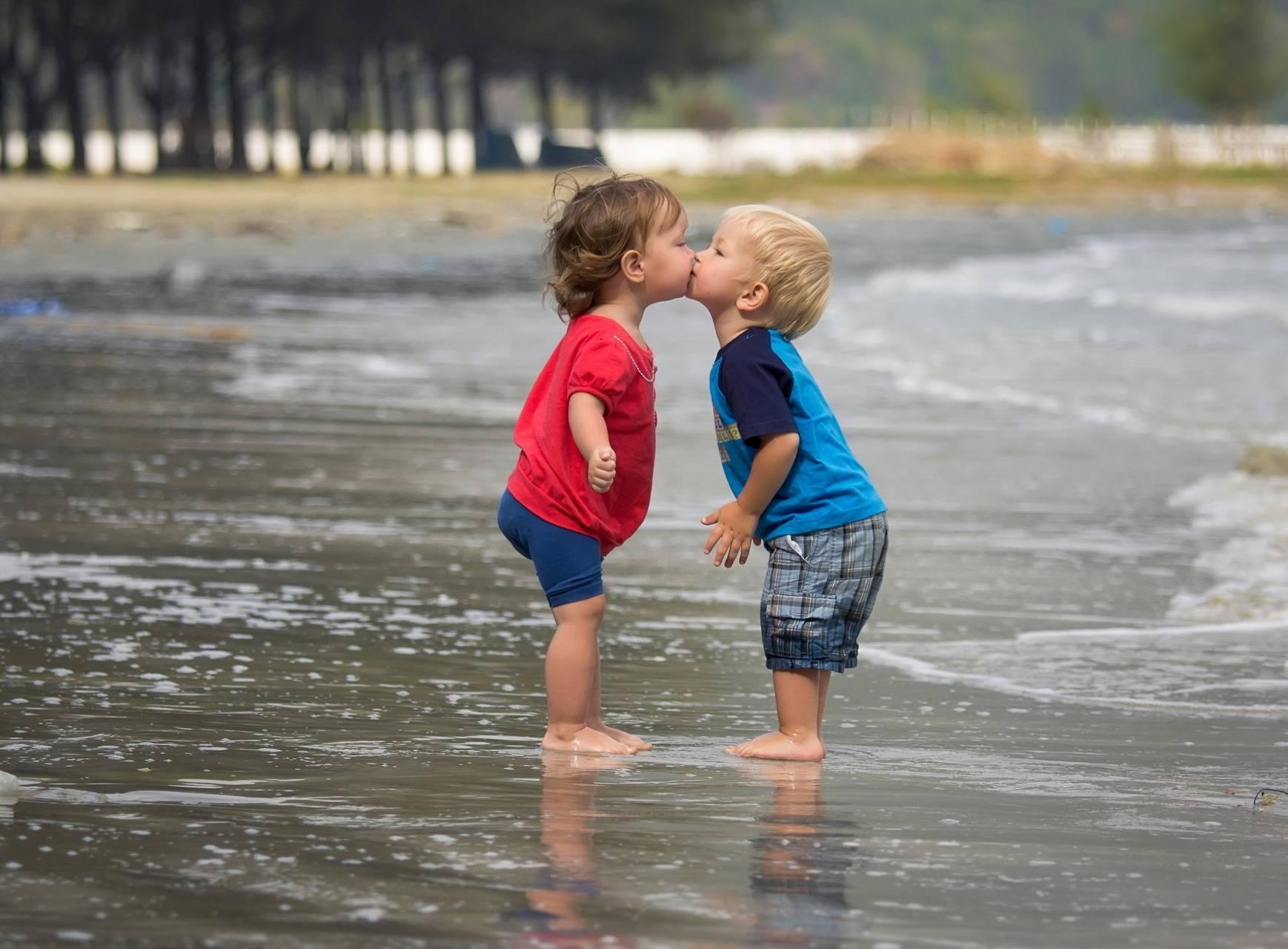 Baby Kissing