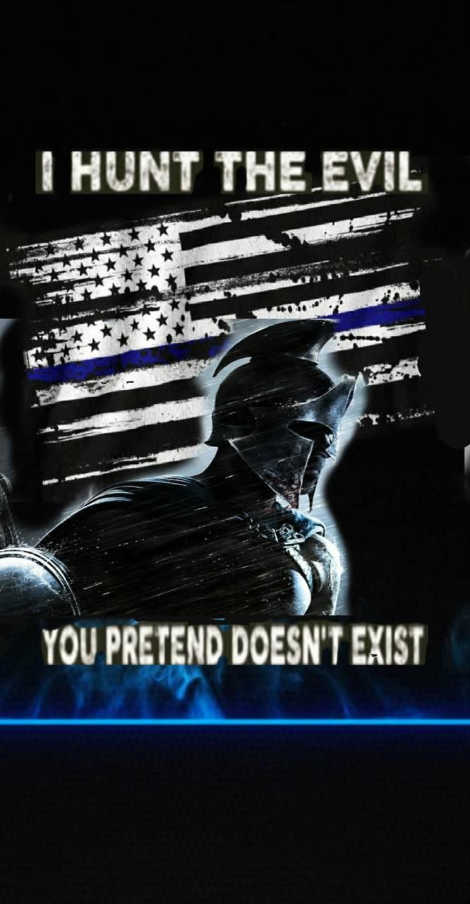Blue line hunter