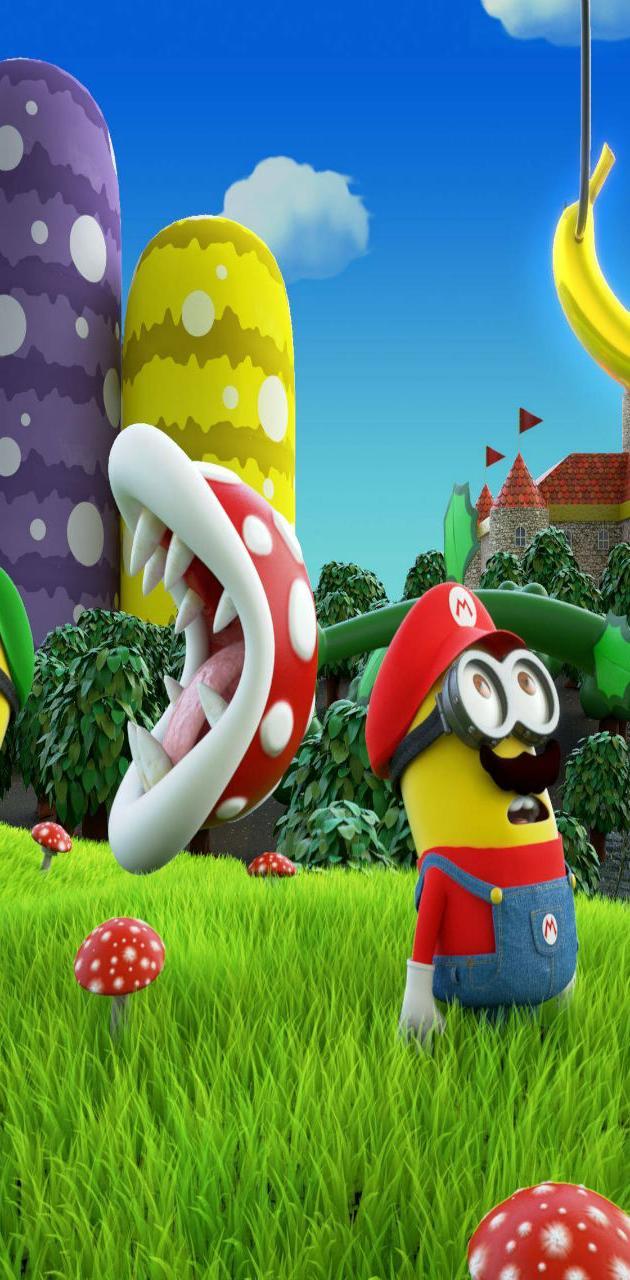 Mario Bros Minions