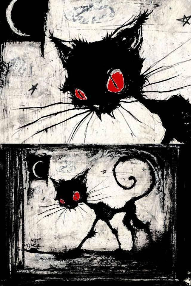 Cat Red Eyes