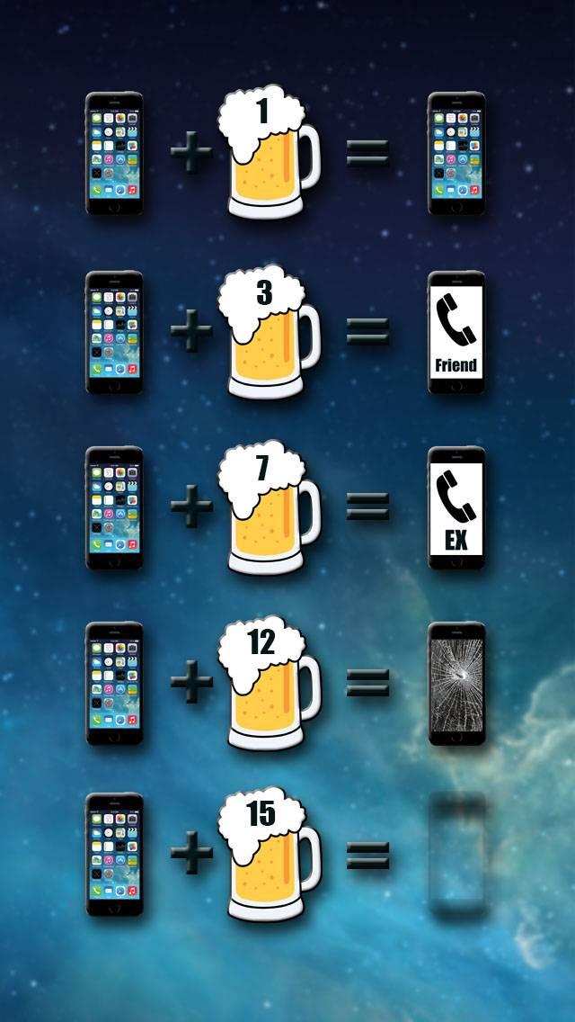 iPhone plus beer