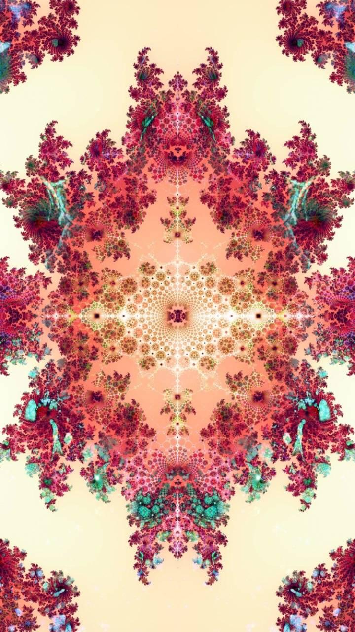 4k Flower Pattern