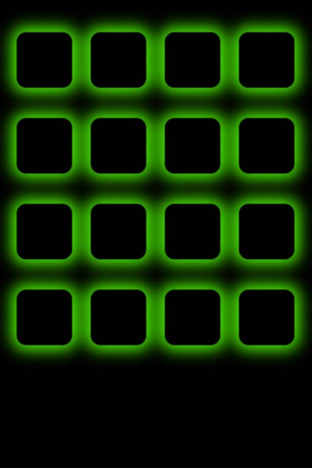 Green Icons Frame