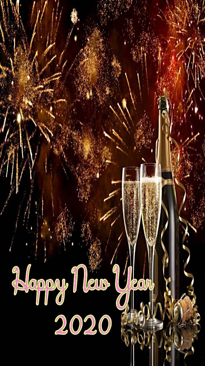 Hd Wallpaper Happy New Year 2020 Images Iphone Test