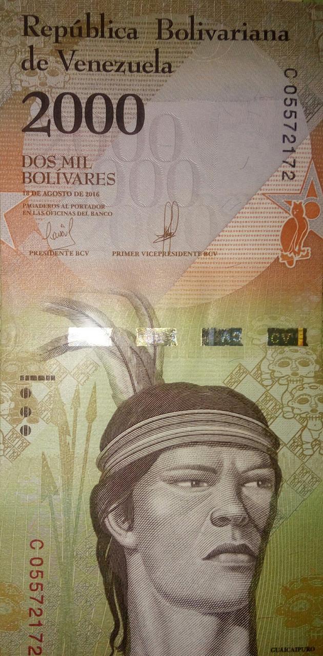 Venezuelan bolivars