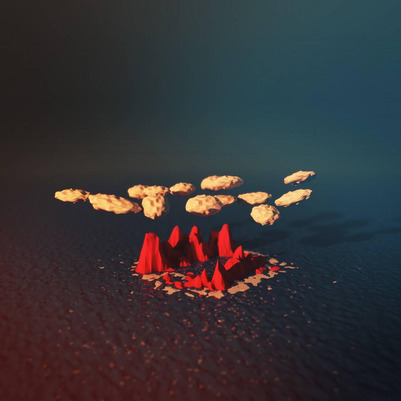 abstract island