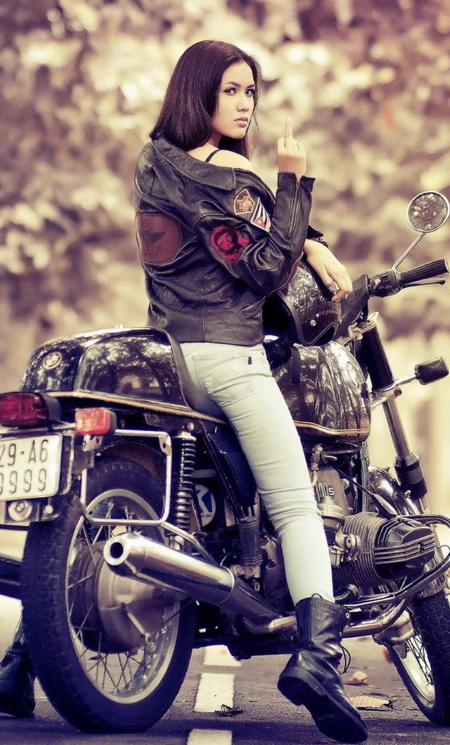 Girl On Bike Wallpaper By Despicableyou 95 Free On Zedge