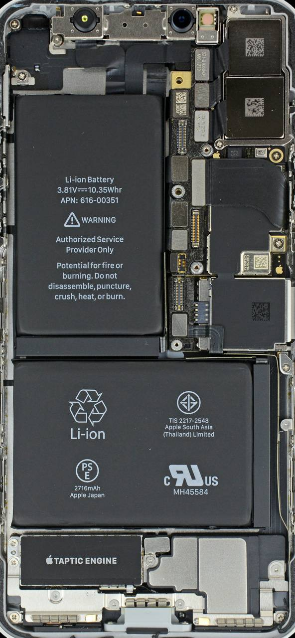 insides iPhone X