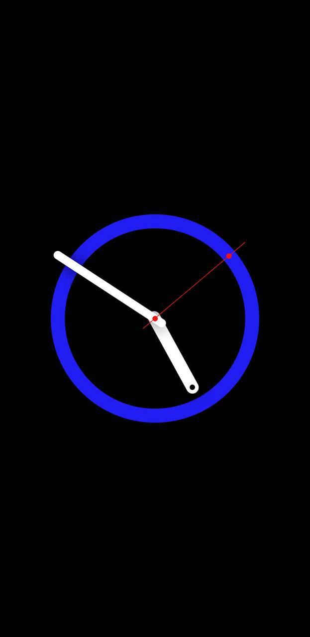 Blue Clock S8