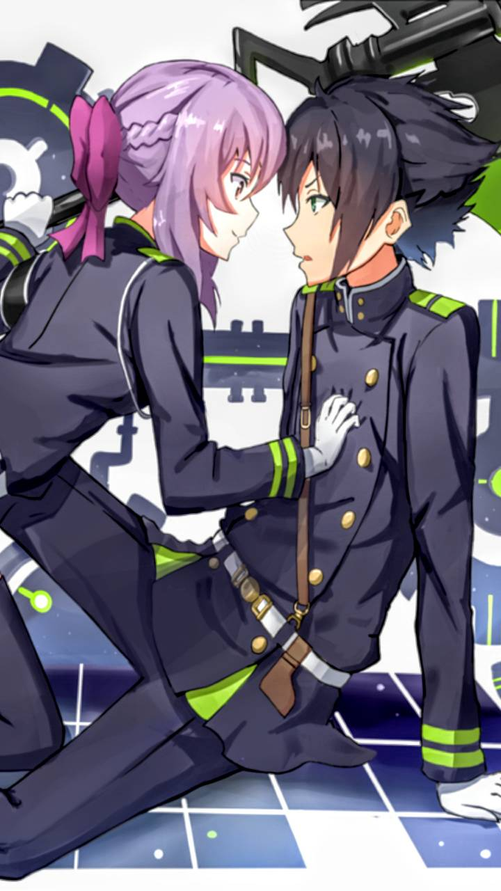 Yuu X Shinoa Wallpaper By Animeking1999 00 Free On Zedge
