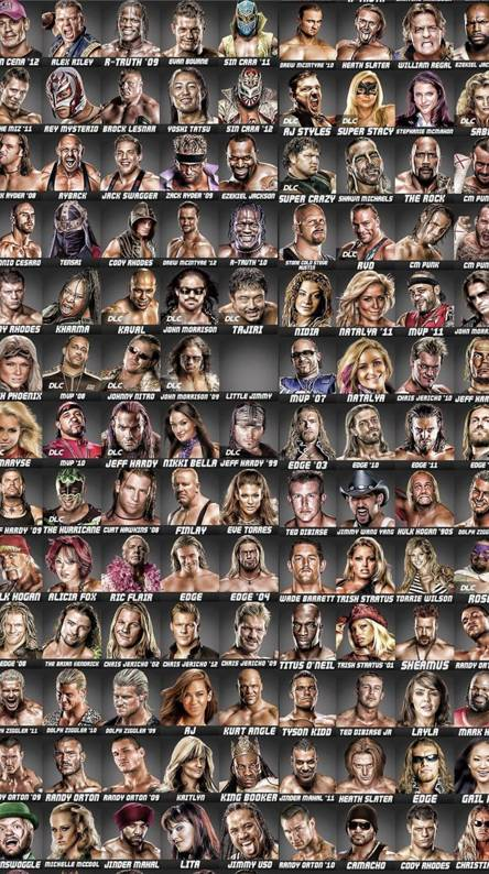 Wwe Superstars 2014