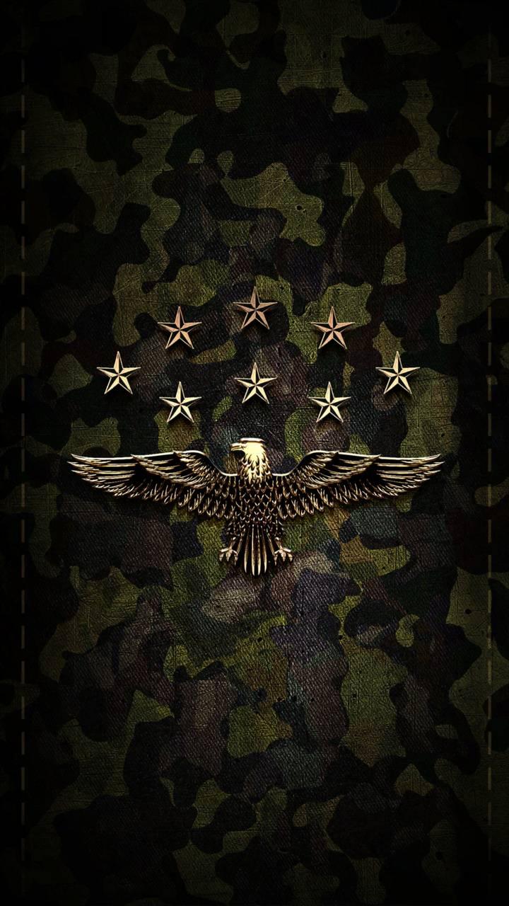 Camo eagle