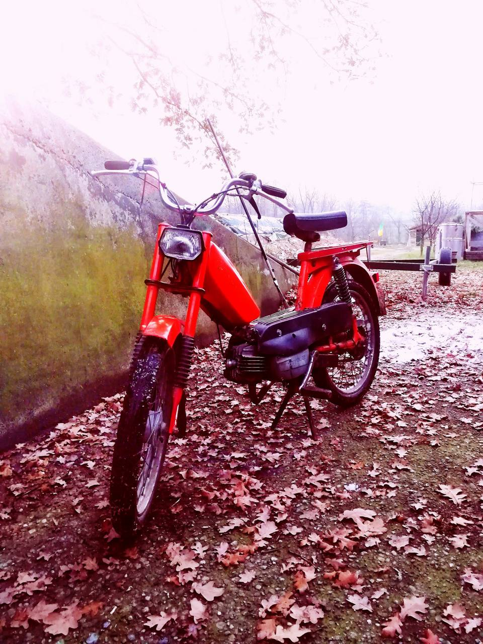 Mofa Moped Kreidler