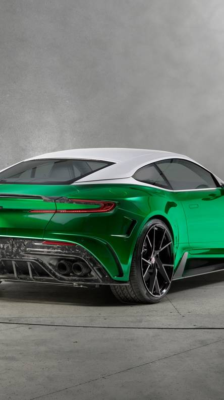 Tuned Aston Martin