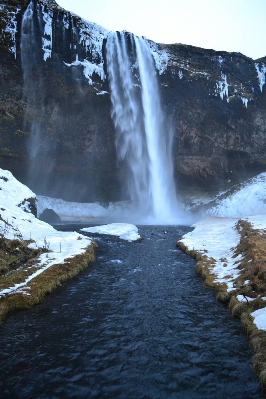 Icelandic waterfall