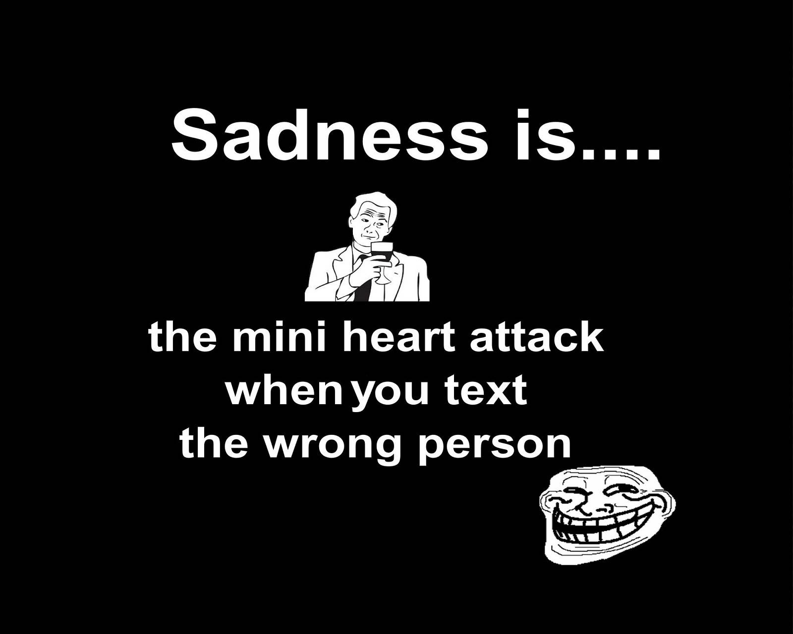 Sadness is