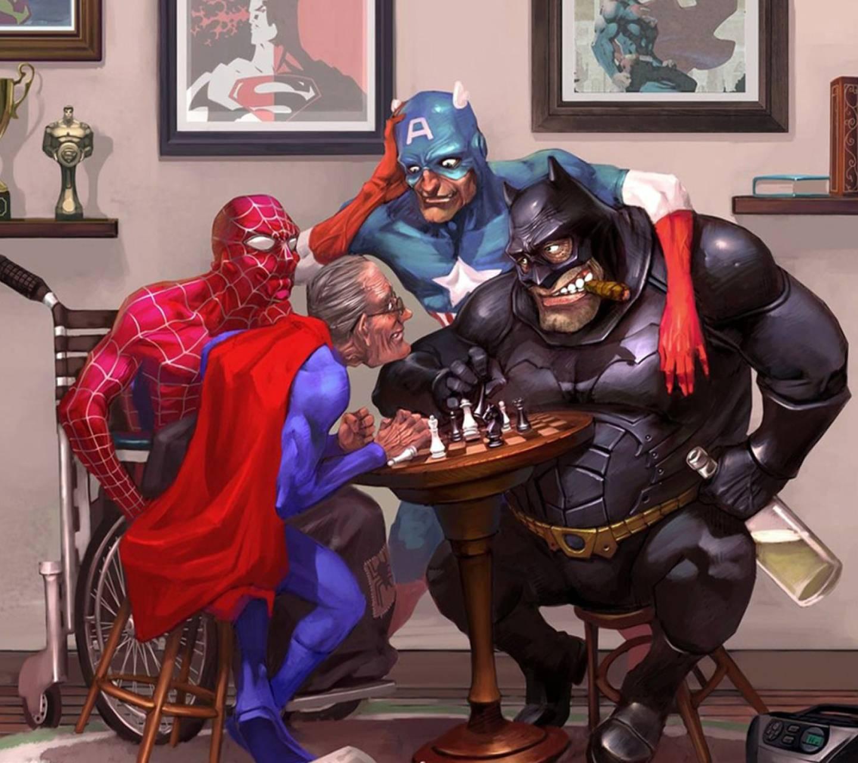 Прикольные картинки супергероя, зерно