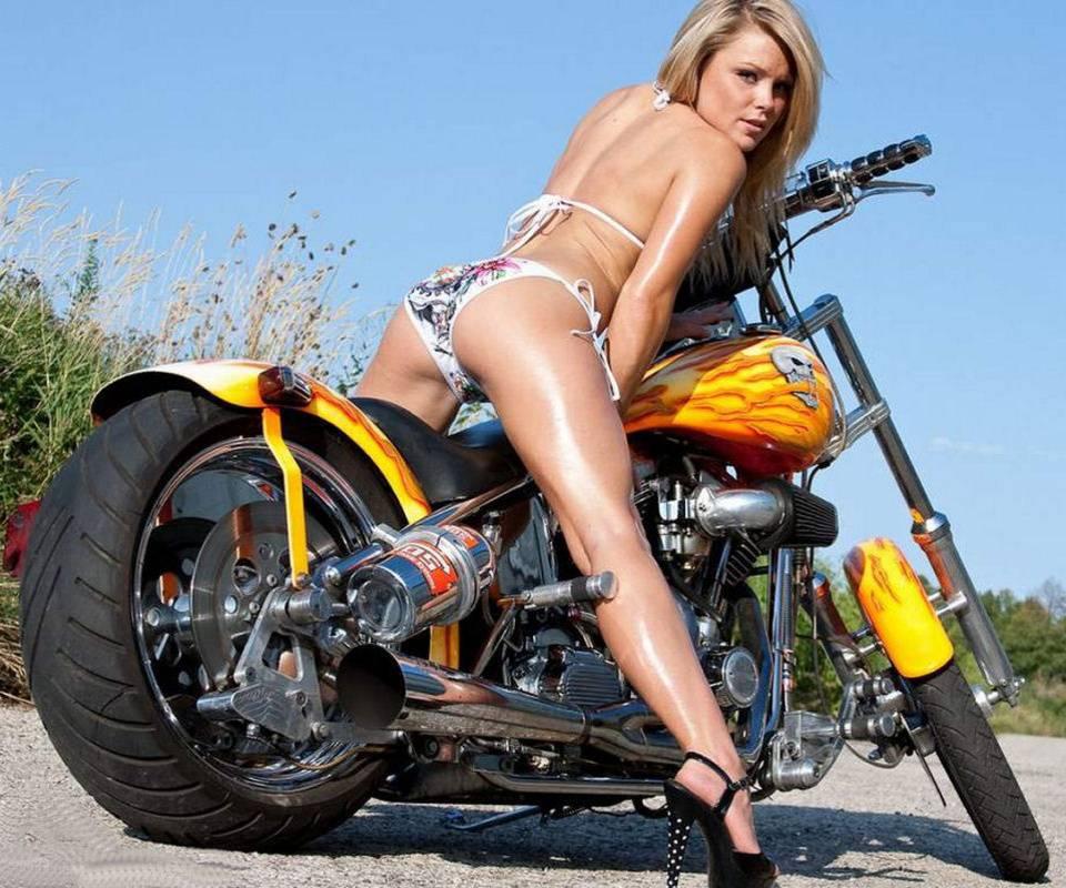 Free sexy biker babes