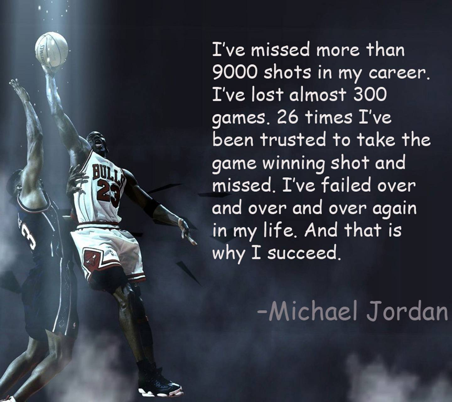 Michael Jordan Quote wallpaper by Almost_Famous_ - a8 - Free ...