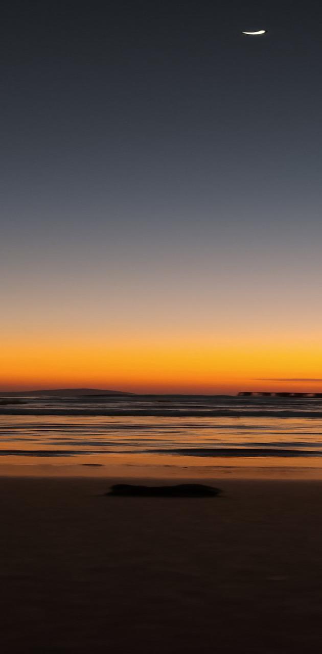 Evening beaches