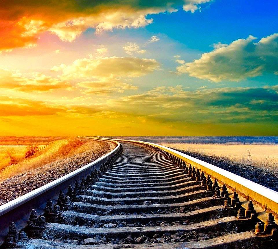 Картинки с поездом счастливого пути, открытка