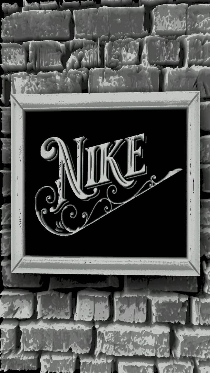 Nike grey wall