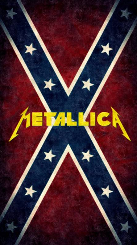 Rebel Flag Metallica