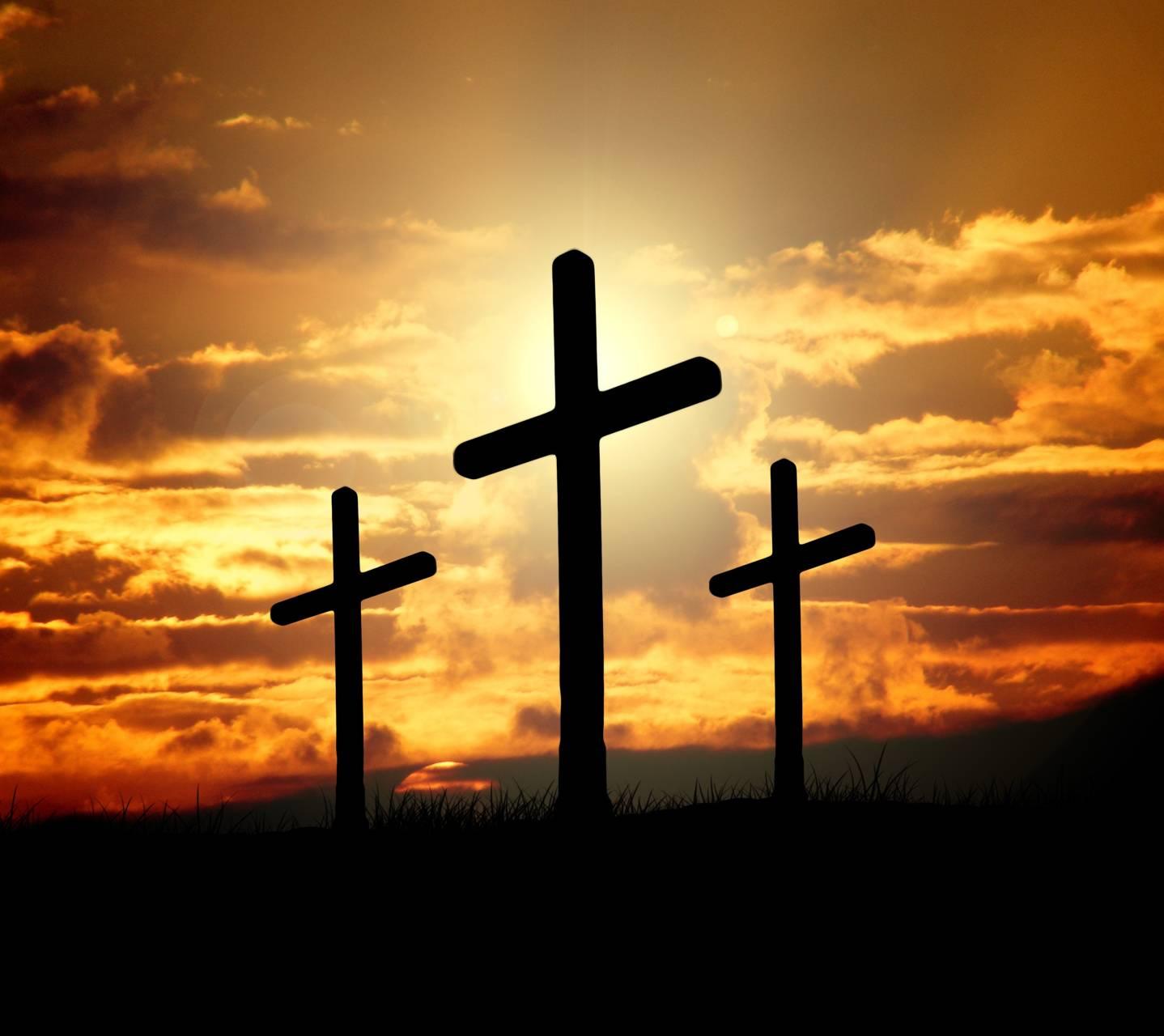 Cross Wallpapers Free: Sunset Crosses Wallpaper By Mrskokspang