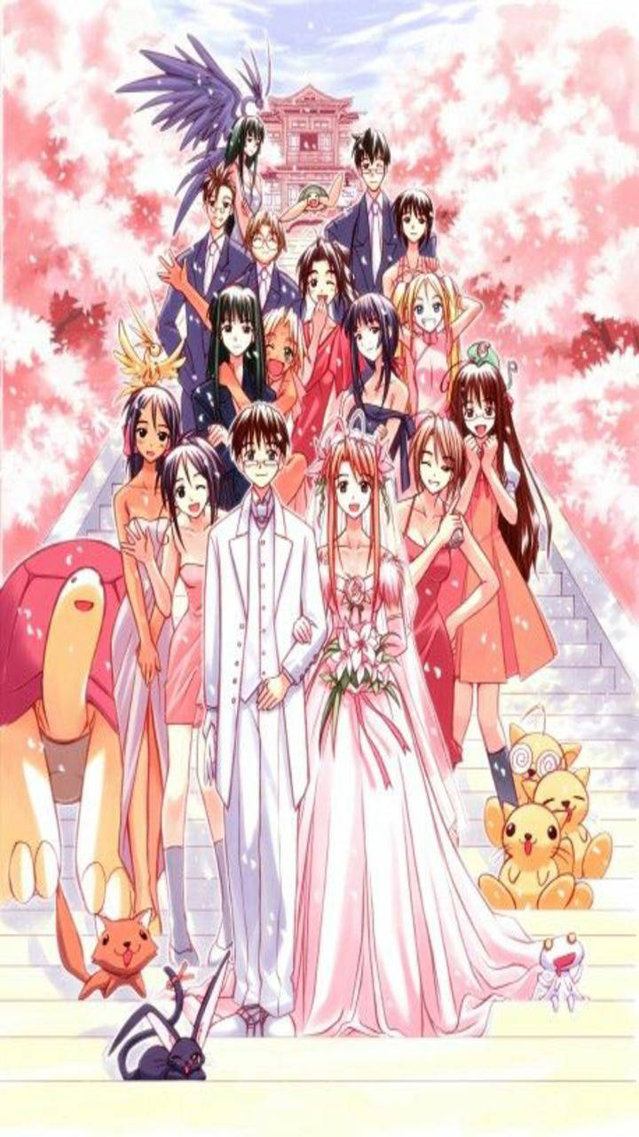 Love Hina Wallpaper By Papel1anime E0 Free On Zedge