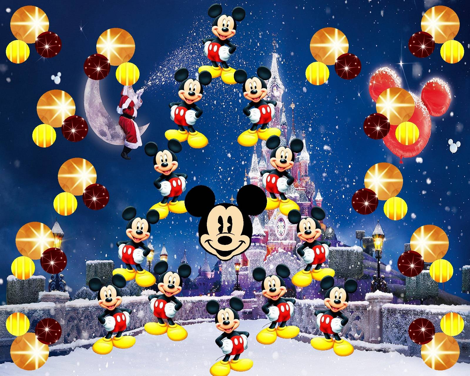 Xmas with Mickey