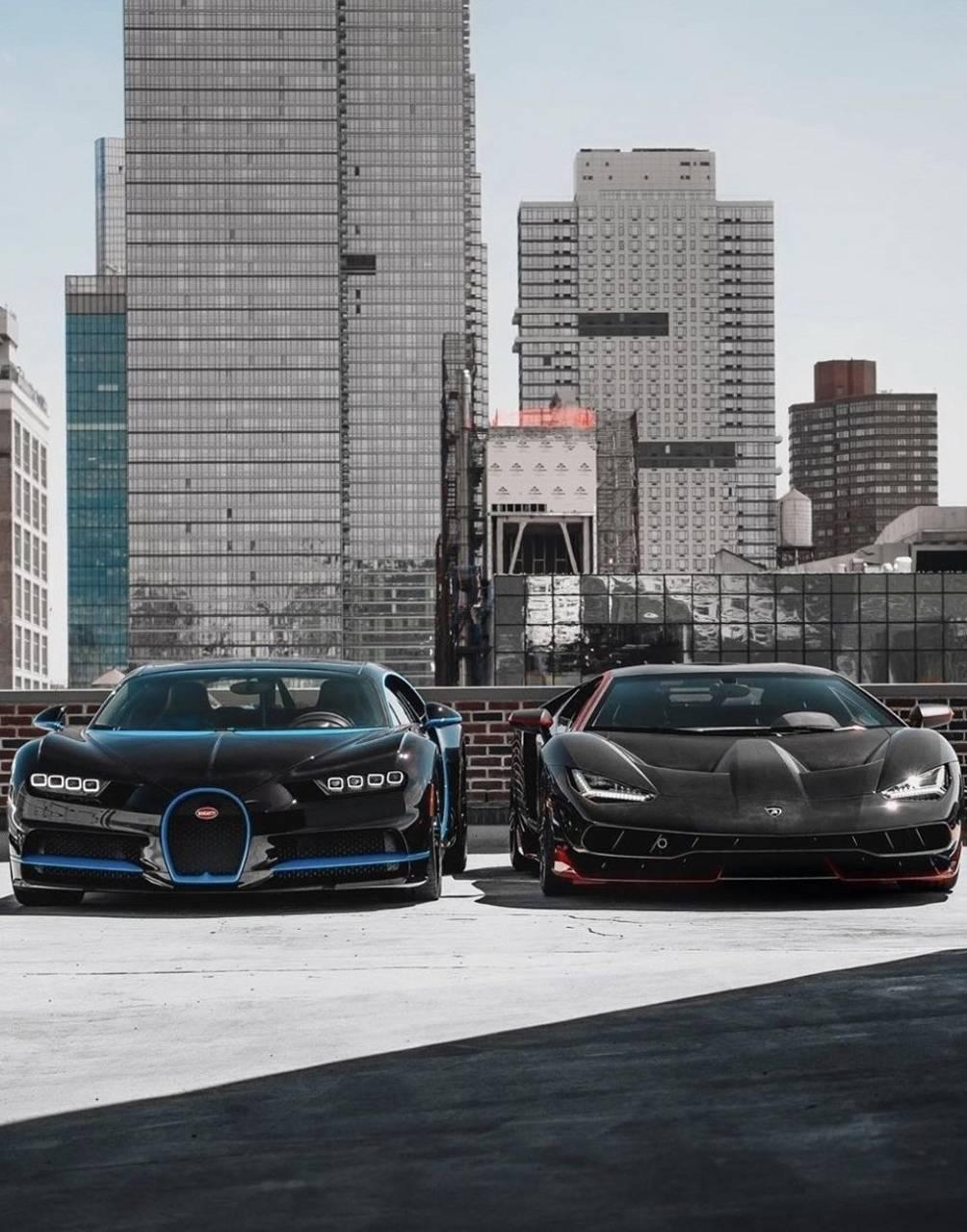 Bugatti x Lambo