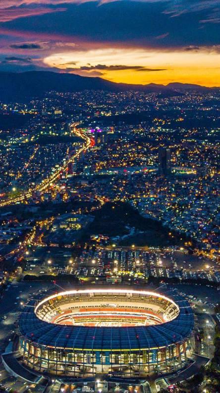 Estadio Azteca view