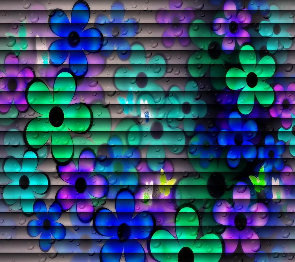 Floral Louvers