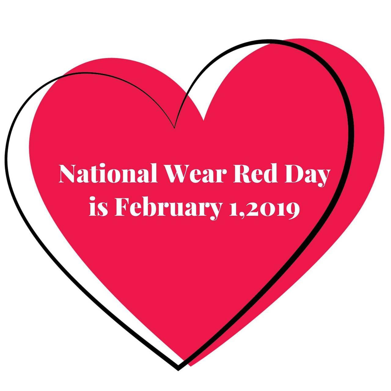 Wear red day chd