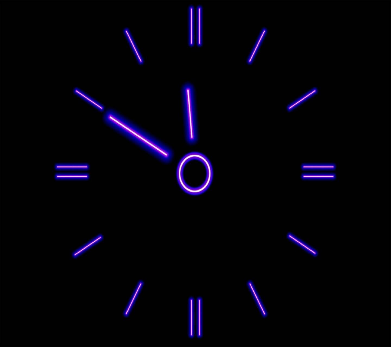 Ultraviolet-clock