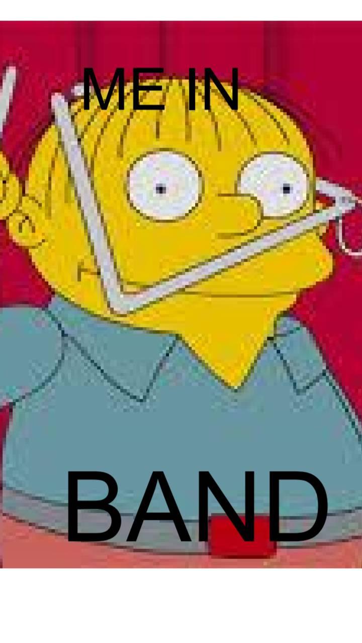 Band Kids Be like