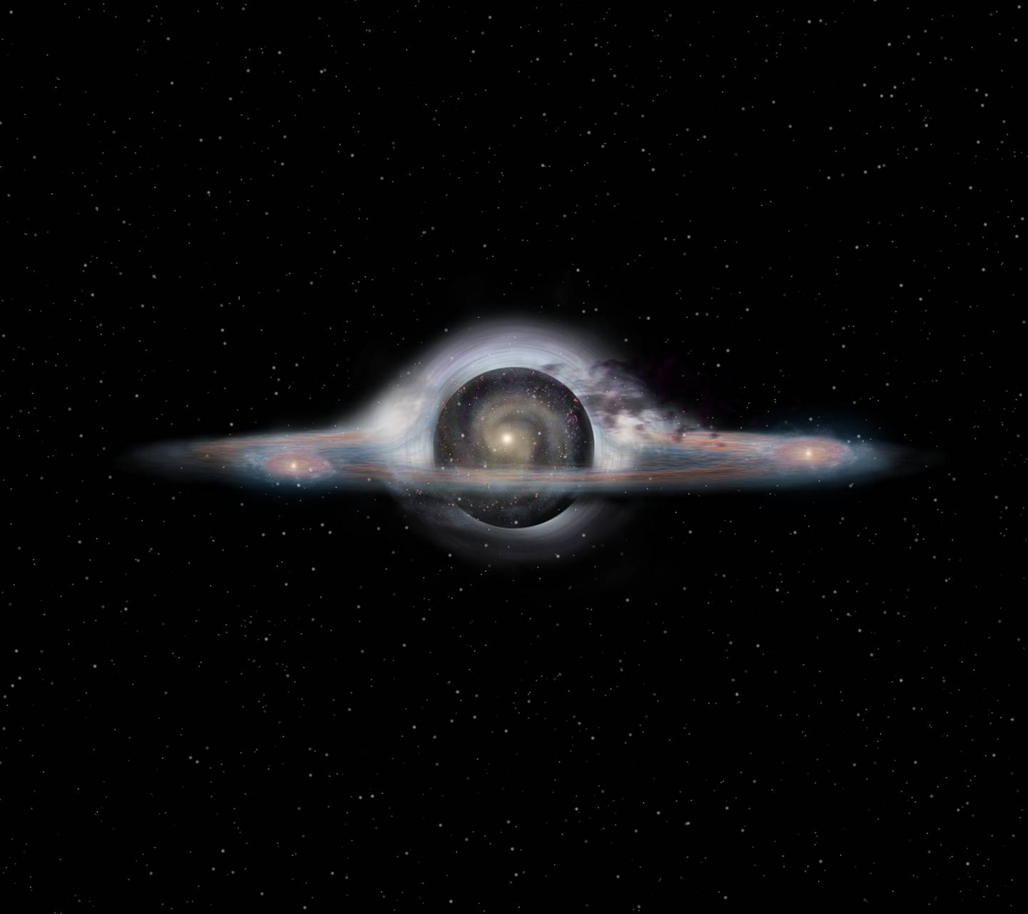 Galaxy black hole