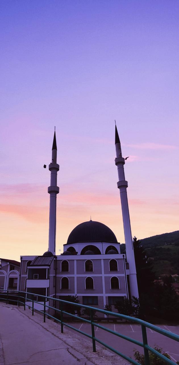 Mosque dawn