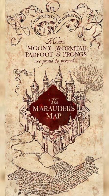 Marauders Map Wallpapers Free By Zedge