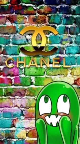 Chanel brick wall