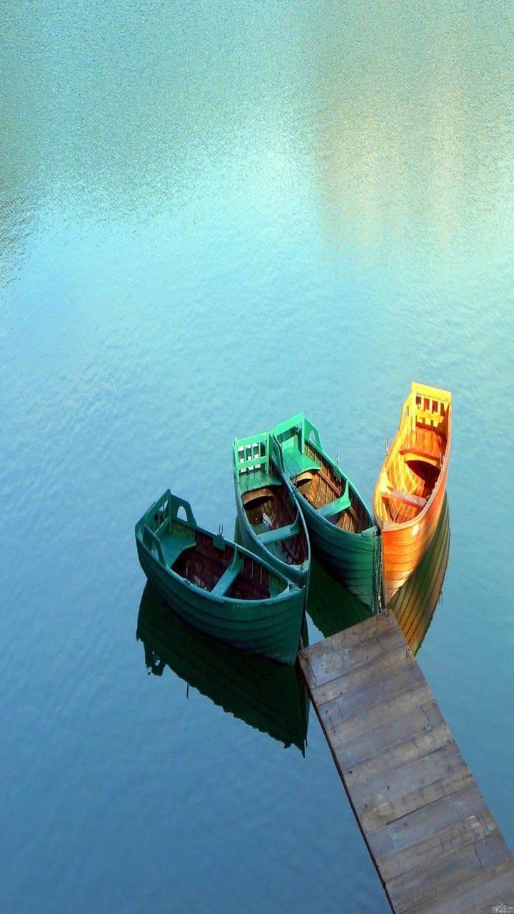 Boat lake bridge