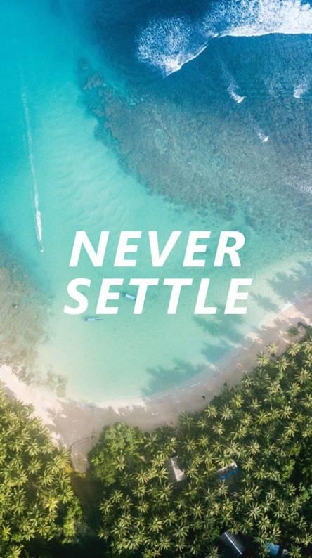 NEVER SETTLE 5