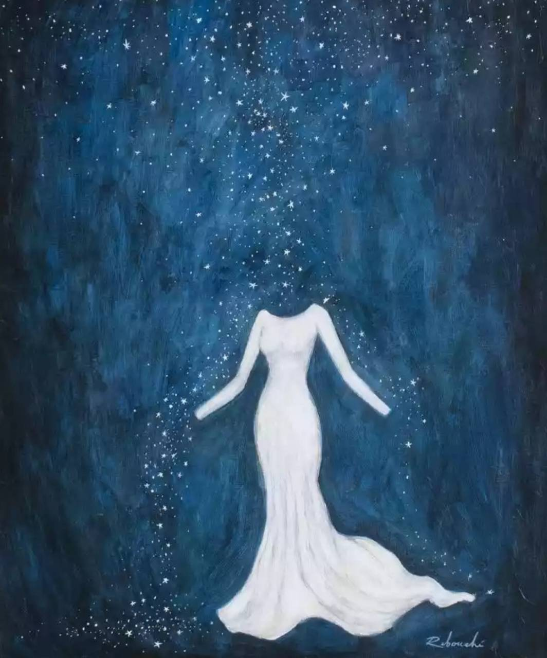 dress out of stars