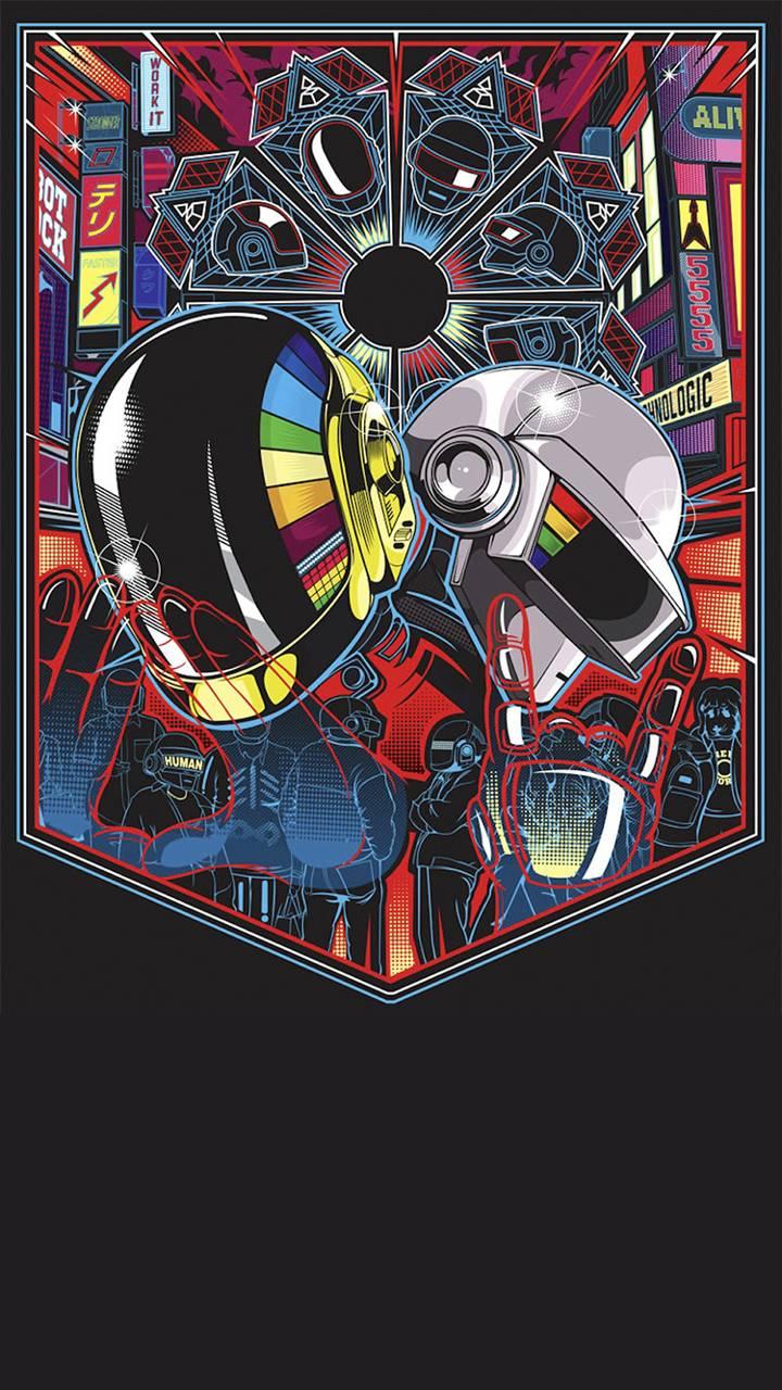 Daft Punk Wallpaper by boreto8 - 50 - Free on ZEDGE™