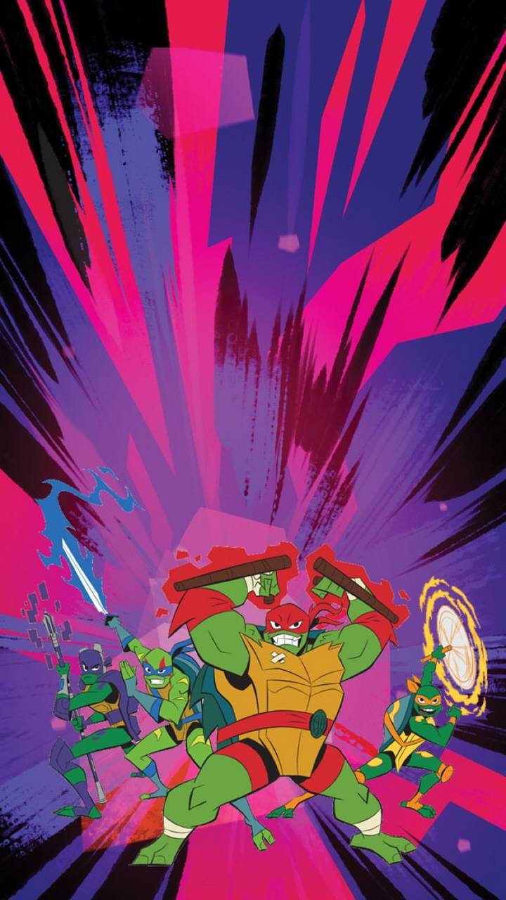 Rise Of The Tmnt Wallpaper By Captamerica455 62 Free On Zedge